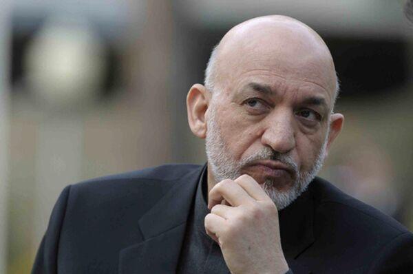 Afghan President Hamid Karzai - Sputnik International