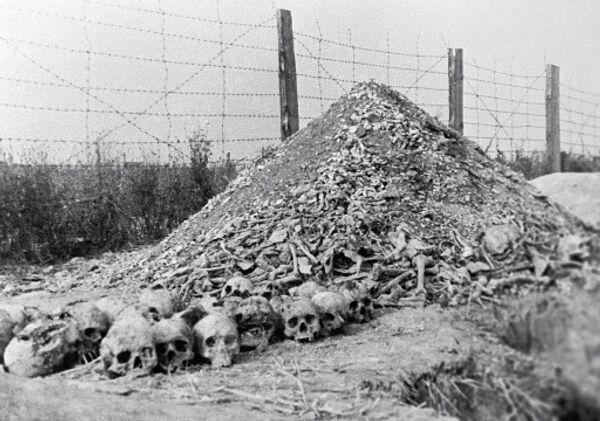 Russia helps U.S. with data on Nazi death camps - Sputnik International