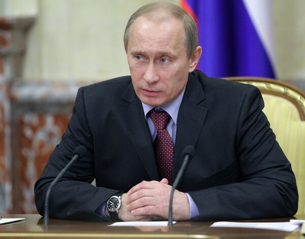 Natural population decline in Russia down by 31% in 2009 - Putin - Sputnik International