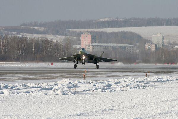 Russia's 5th generation jet fighter to start tests in April - Sputnik International