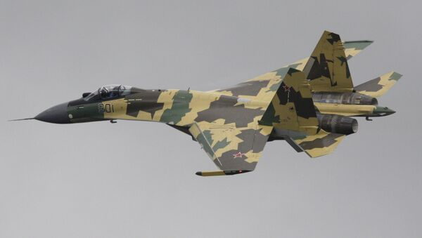 According to open sources, China plans to buy 24 Su-35 fighters from Russia. - Sputnik International