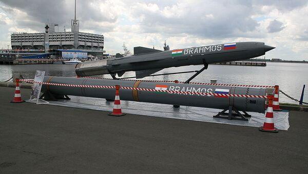 Russian-Indian Brahmos supersonic cruise missile - Sputnik International