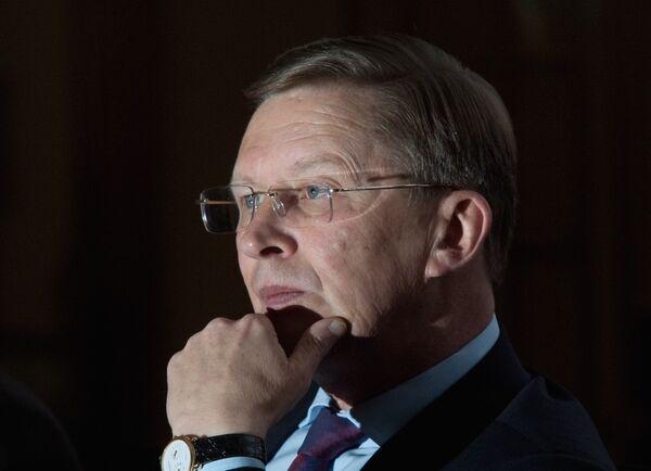 Russian Deputy PM Sergei Ivanov - Sputnik International