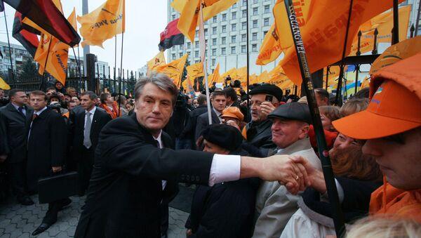 Viktor Yushchenko's five years in power - Sputnik International