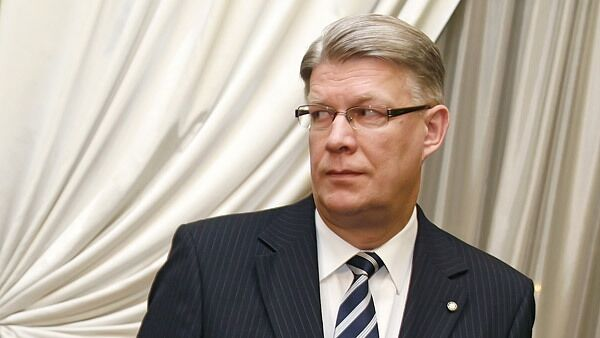 Latvian President Valdis Zatlres  - Sputnik International