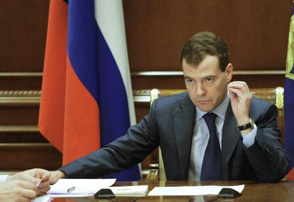 Medvedev calls for clean up of Russian oil sector - Sputnik International