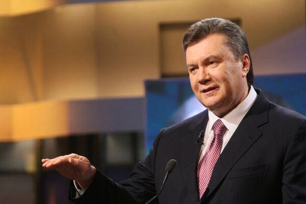 Yanukovych confirms no plans to take Ukraine into NATO - Sputnik International