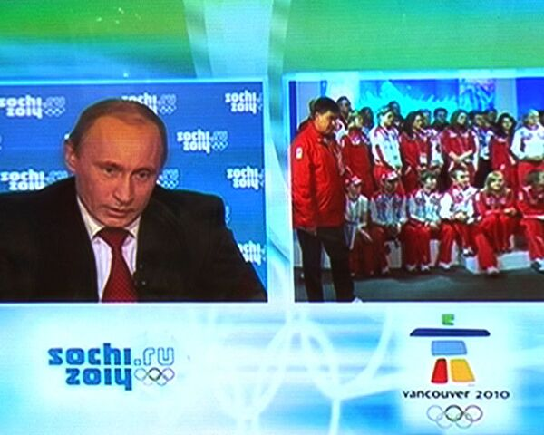 Vladimir Putin inspires Russian athletes to win - Sputnik International