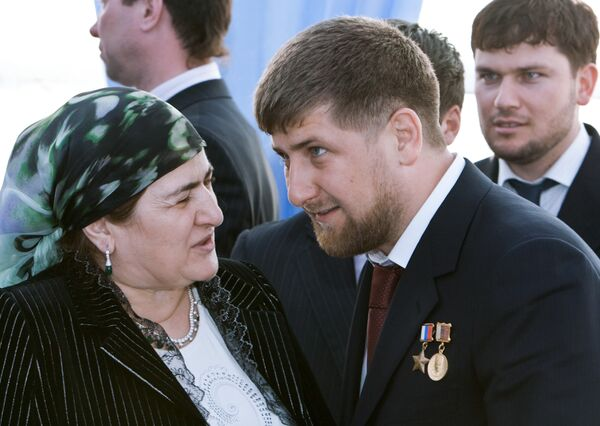 Aymani Kadyrov, a woman the Chechen president listens to - Sputnik International