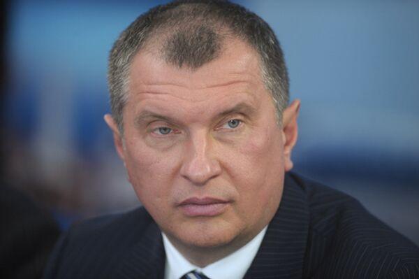 Deputy Prime Minister Igor Sechin - Sputnik International