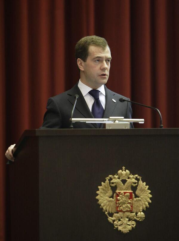 Medvedev discharges 15 top Russian police generals - Kremlin - Sputnik International