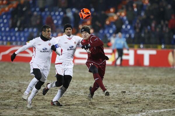 Football. UEFA League. Rubin Kazan beats Hapoel Tel Aviv 3 to 0 - Sputnik International