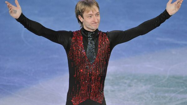 Plushenko leaves it up to officials to challenge Olympic judges  - Sputnik International