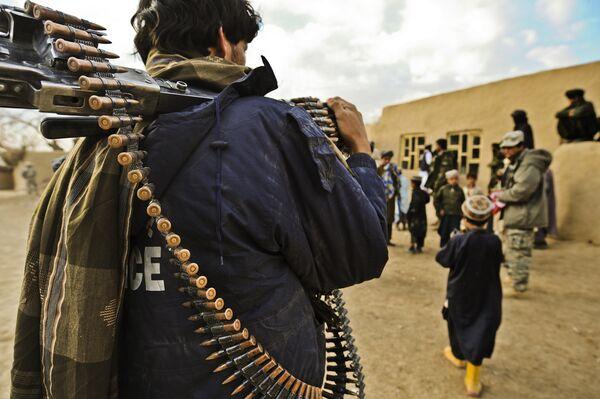 The Afghan police - Sputnik International