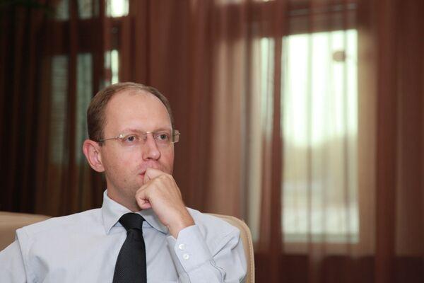 Arseniy Yatsenyuk - Sputnik International