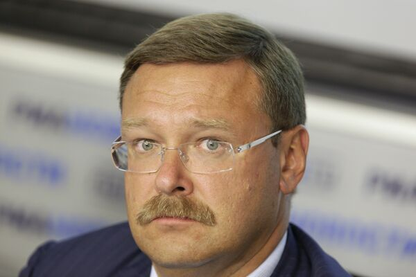 Konstanin Kosachyov, the head of Russian parliament's International Affairs Committee - Sputnik International