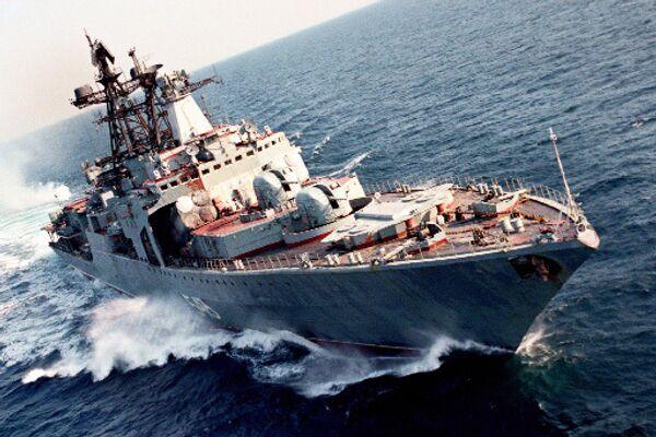 The large anti-submarine warship Marshal Shaposhnikov - Sputnik International
