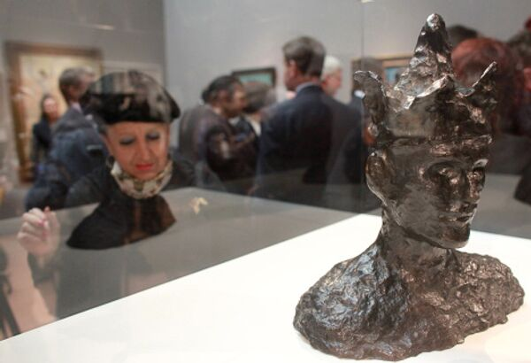 Picasso. Moscow. Exhibition in Pushkin State Museum of Fine Arts  - Sputnik International