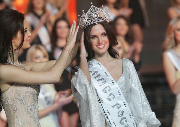 Russia's most beautiful girl and her rivals - Sputnik International