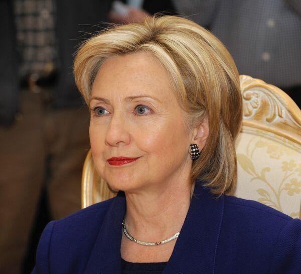 The U.S. Secretary of State Hilary Clinton - Sputnik International