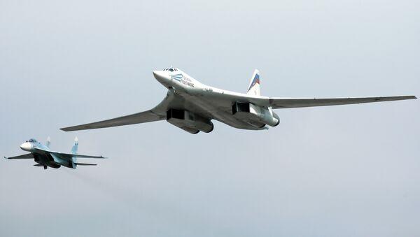 Tu-160 strategic bomber. File photo. - Sputnik International
