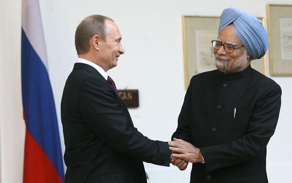 Vladimir Putin's visit to India - Sputnik International