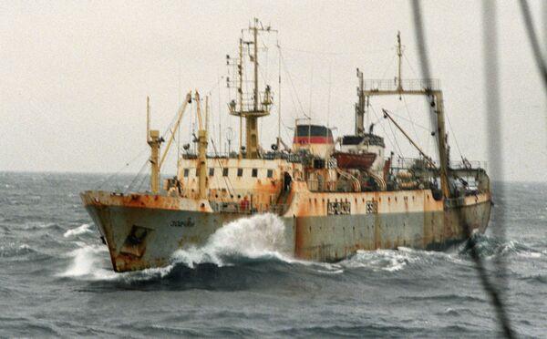 Trawler Zodchiy - Sputnik International