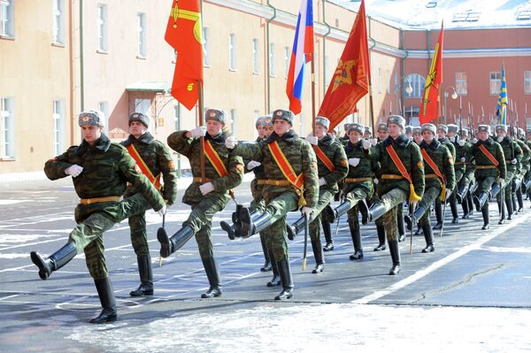 Training for the Victory Day parade - Sputnik International