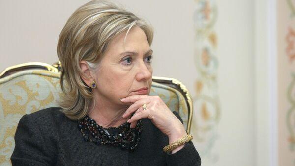 US State Secretary Hillary Clinton meets with Russian Prime Minister Vladimir Putin - Sputnik International