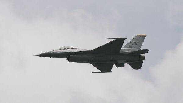US Air Force F-16 fighter jet - Sputnik International