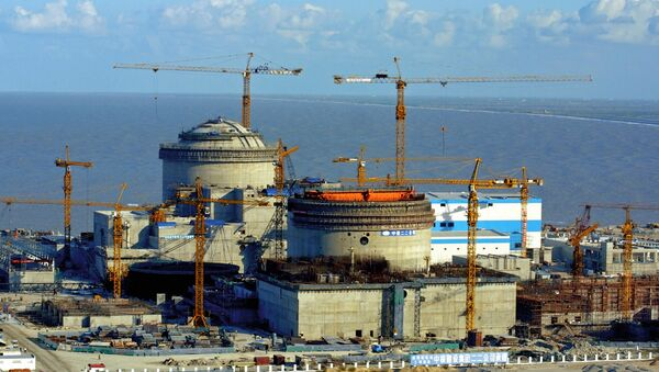 Construction of Tyanwan Nuclear Power Plant in China - Sputnik International