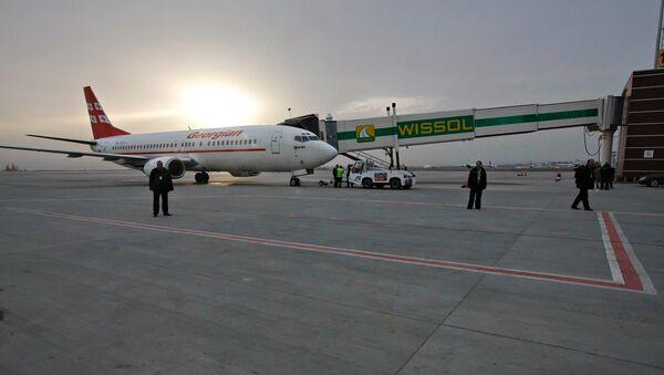 Georgian Airways Boeing-737-500 - Sputnik International