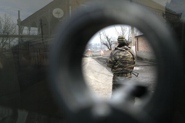 Suicide Belt Found on Ingushetia Suspect's Body - Investigators - Sputnik International