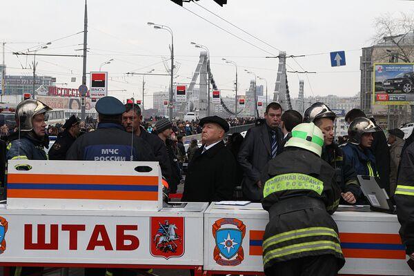 Moscow police on high alert emergency regime, working in subway blasts  - Sputnik International