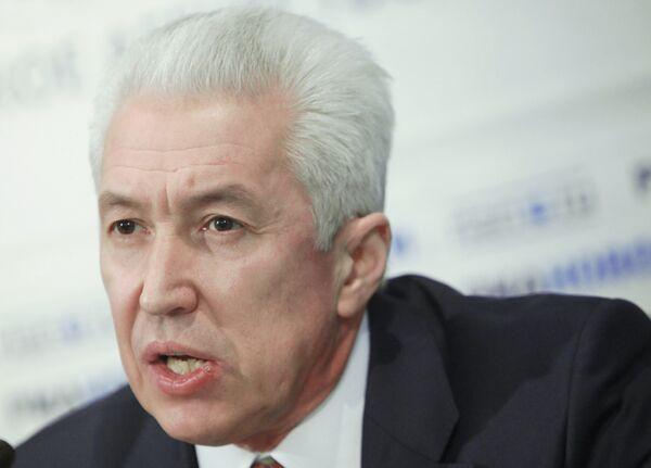 Vladimir Vasilyev gives news conference at RIA Novosti - Sputnik International
