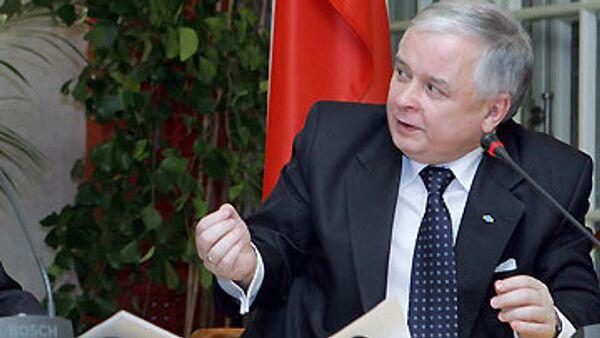 Polish President Lech Kaczynski - Sputnik International