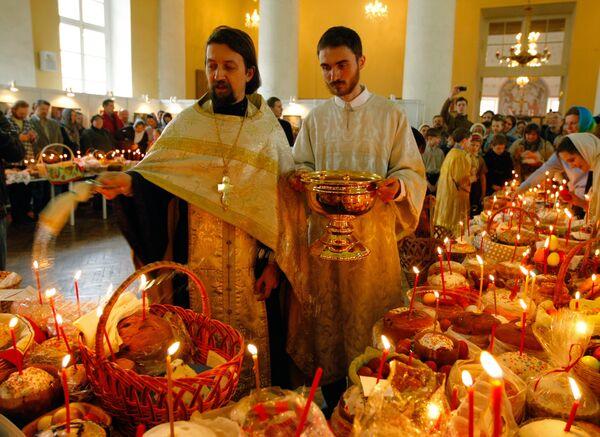 В домовом храме святой мученицы Татианы - Sputnik International