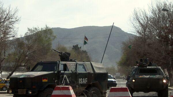 German troops operating in Afghanistan - Sputnik International