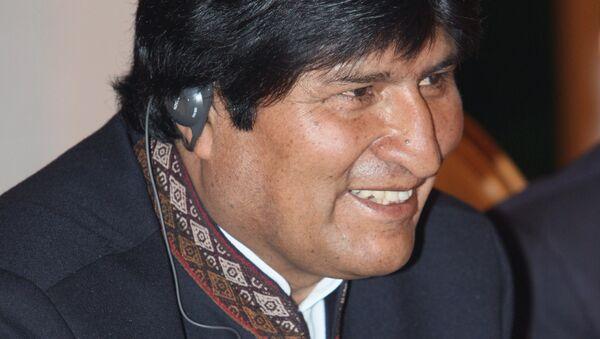 Bolivian President Evo Morales - Sputnik International