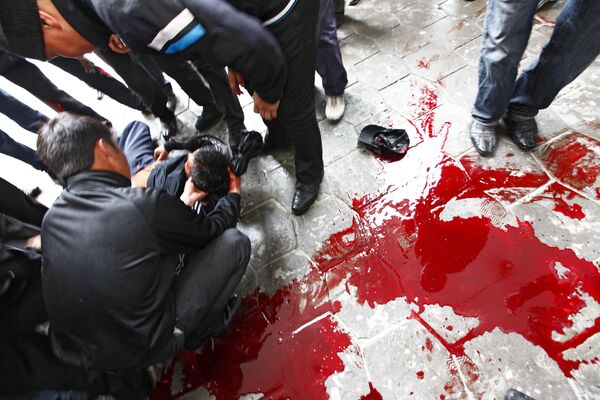 Riots in Kyrgyzstan - Sputnik International