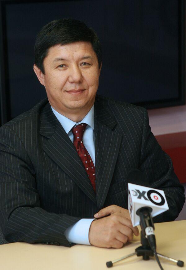 Temir Sariyev - Sputnik International