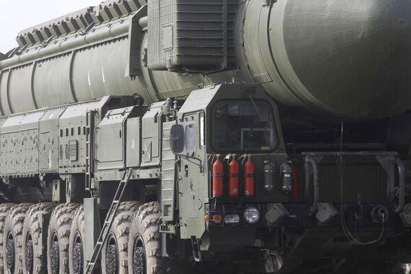 The Topol-M mobile ballistic missile system - Sputnik International