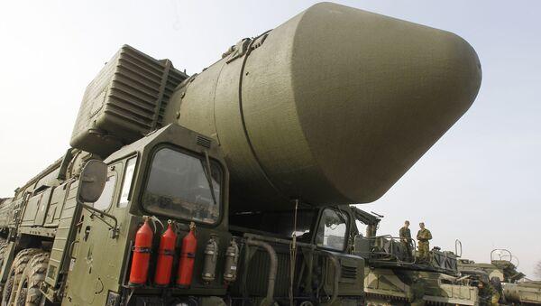 Topol-M ballistic missiles - Sputnik International