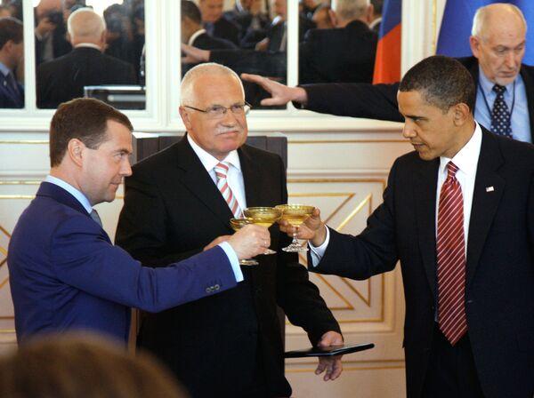 Reception at Czech President's residence Vaclav Klaus - Sputnik International