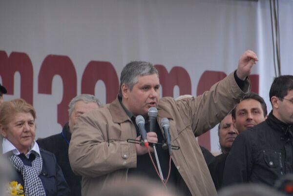 Georgian opposition threatens to repeat Kyrgyz uprising - Sputnik International