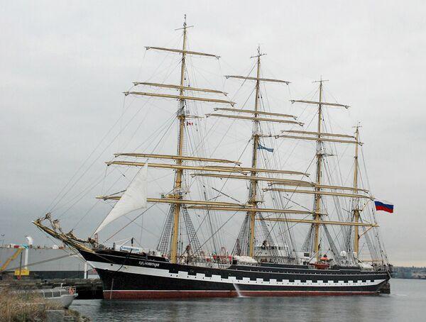 The Russian sailing ship Kruzenshtern - Sputnik International
