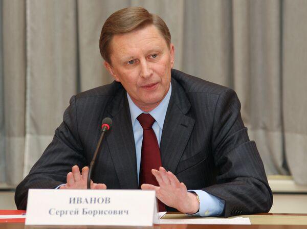 Russian First Deputy Prime Minister Sergei Ivanov - Sputnik International