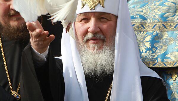 The head of Russian Orthodox Church Patriarch Kirill - Sputnik International