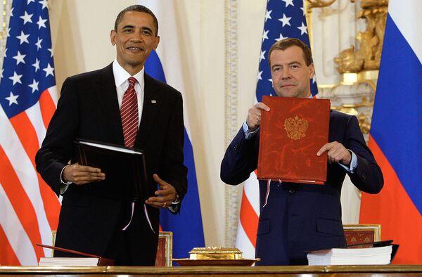 New START treaty heads to U.S. Senate for ratification (Update) - Sputnik International