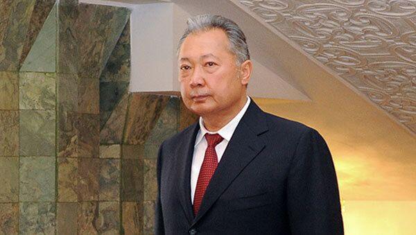 Deposed Kyrgyz president steps down - source - Sputnik International